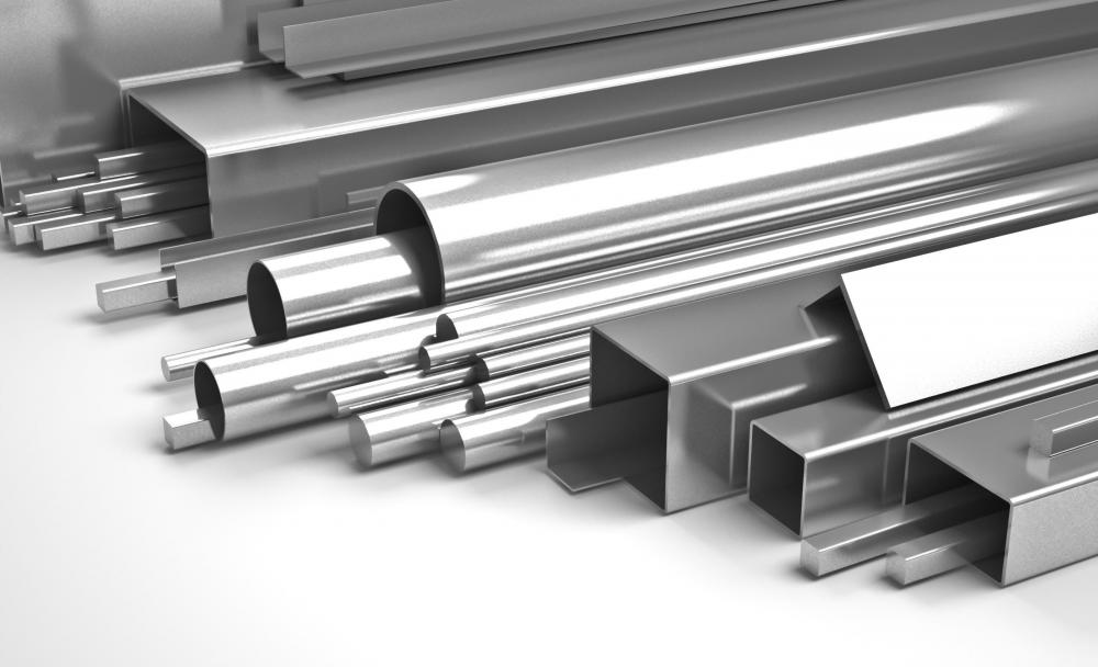 Strip steel is used to make smaller steel items.