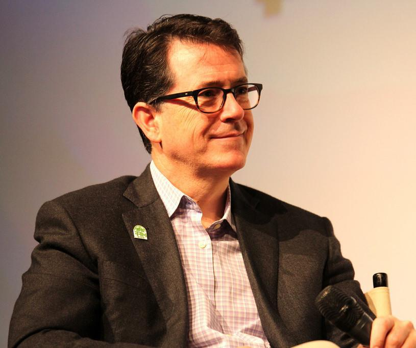 Comedian Stephen Colbert created the Wrist Strong bracelet as a comic prop for his show after he broke his wrist.