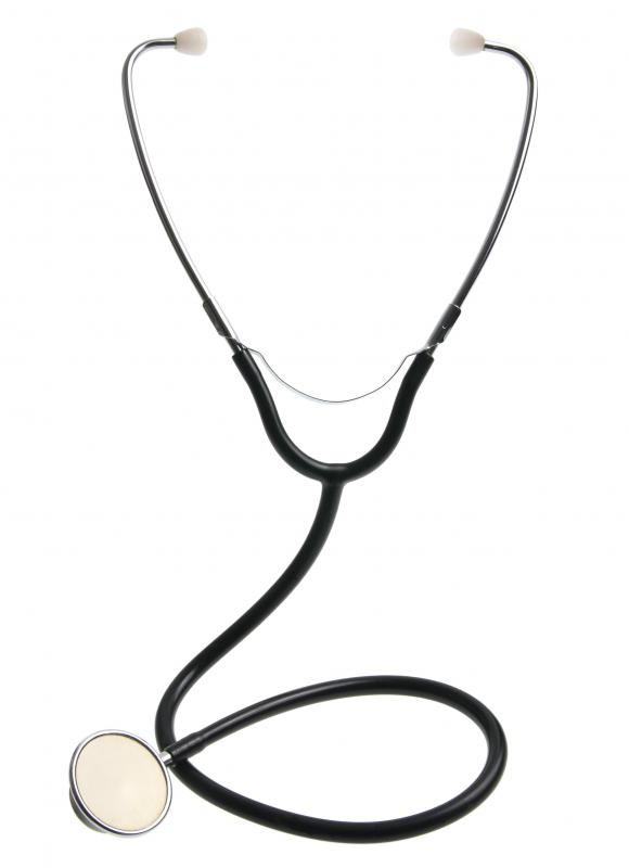 A stethoscope, which can be used to do non-invasive testing.