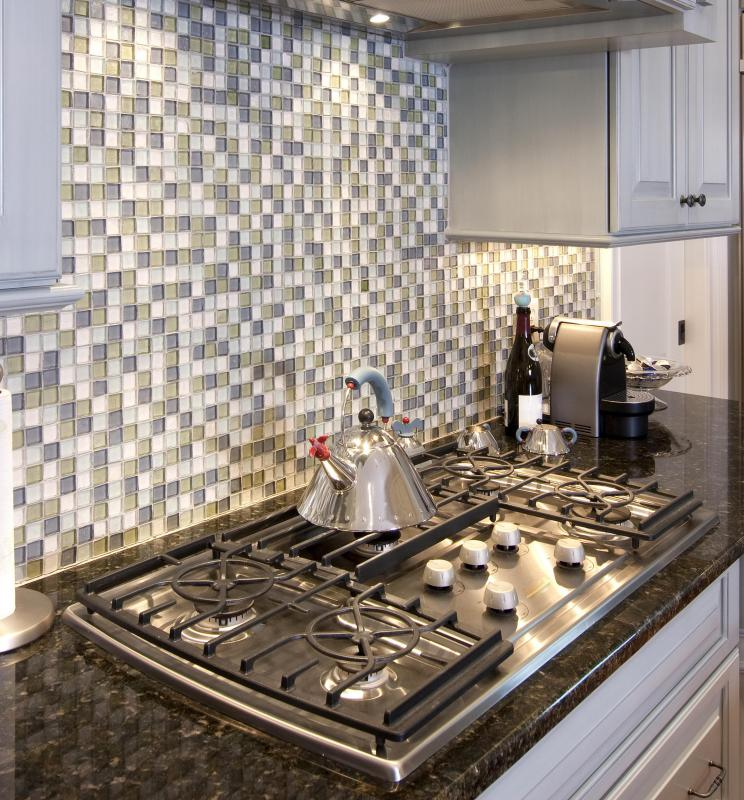 ceramic and porcelain tile backsplashes are relatively easy to install - Install Ceramic Tile Backsplash