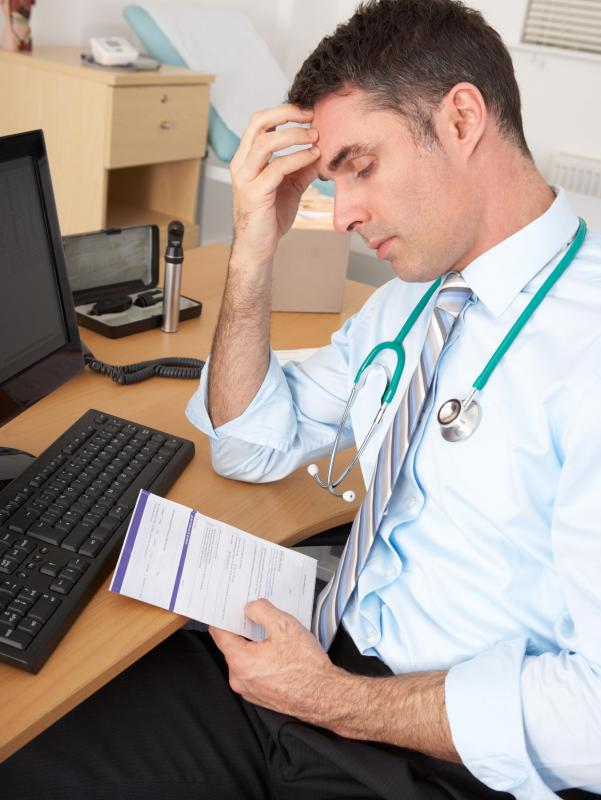 All medical professionals must be able to work well under stress.