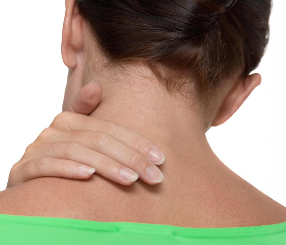 neck pain caused by prednisone