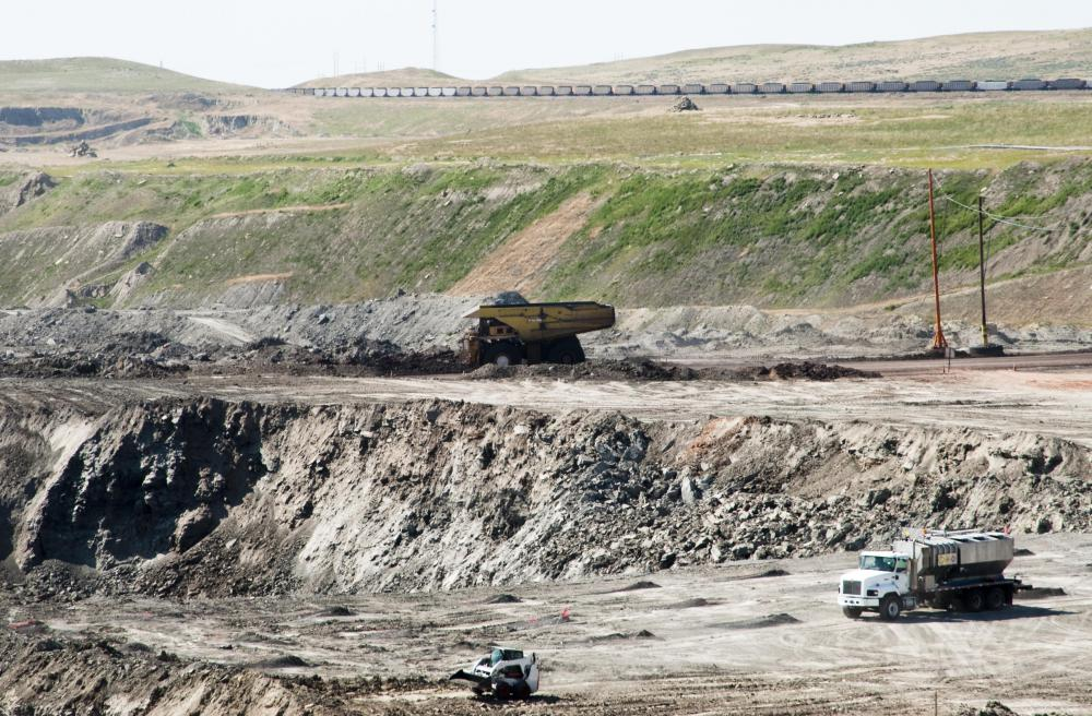 Strip mining is primarily used for excavating coal.