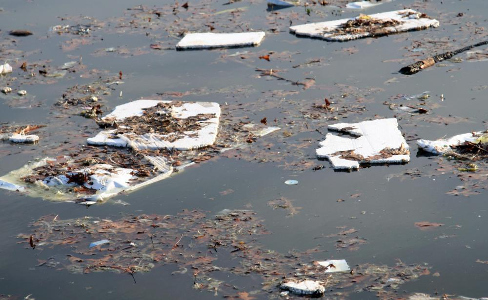 Water pollution is a serious problem that leads to water scarcity.