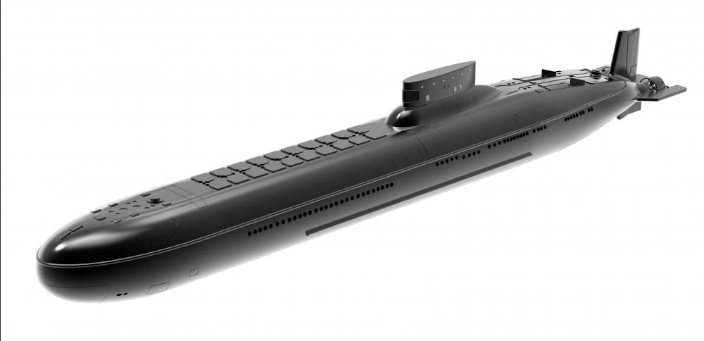 Ballistic missile submarines, such as the Soviet/Russian Typhoon class, can launch multiple nuclear weapons.