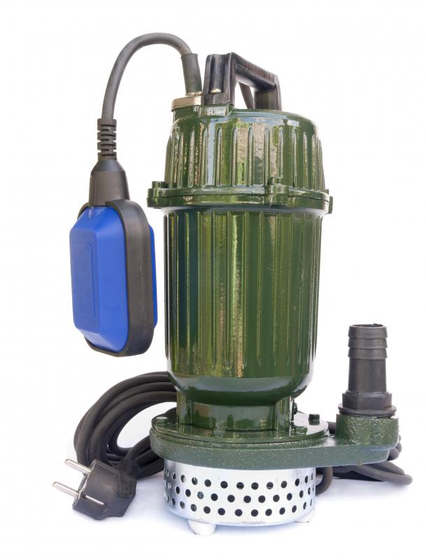 The submersible variety of sump pump combines the pump and the waterproof motor in one unit that completely fits inside the sump, so it can get wet.