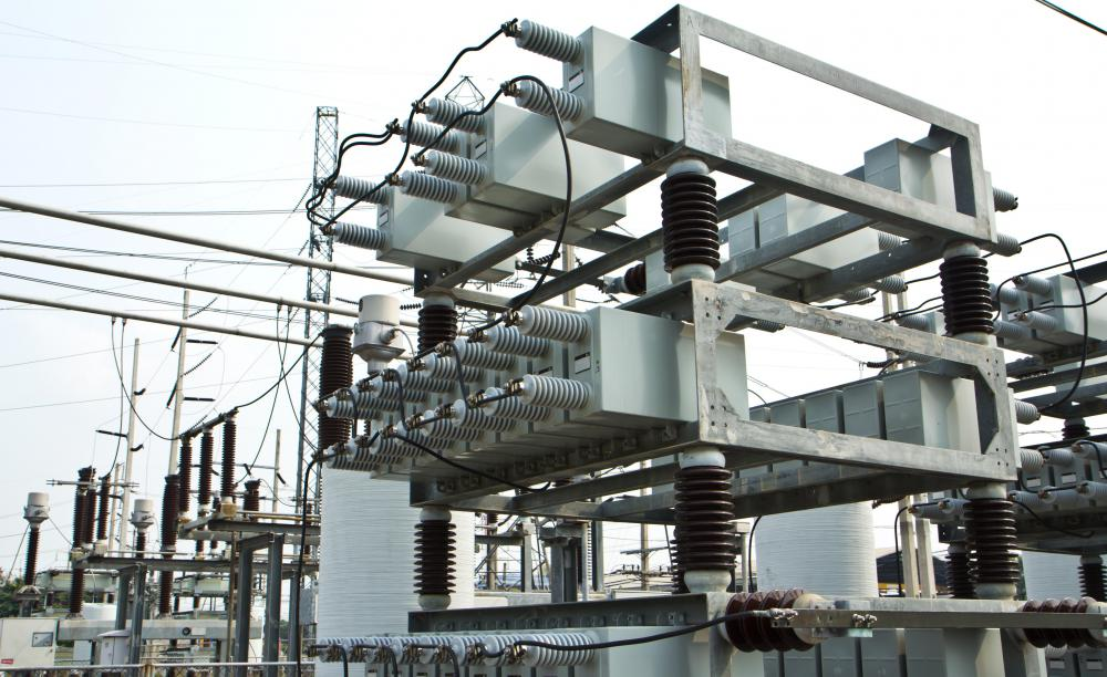 Power stations generate electricity.