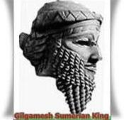 The Epic of Gilgamesh concerns the adventures of a Sumerian king named Gilgamesh and his companion Enkidu.