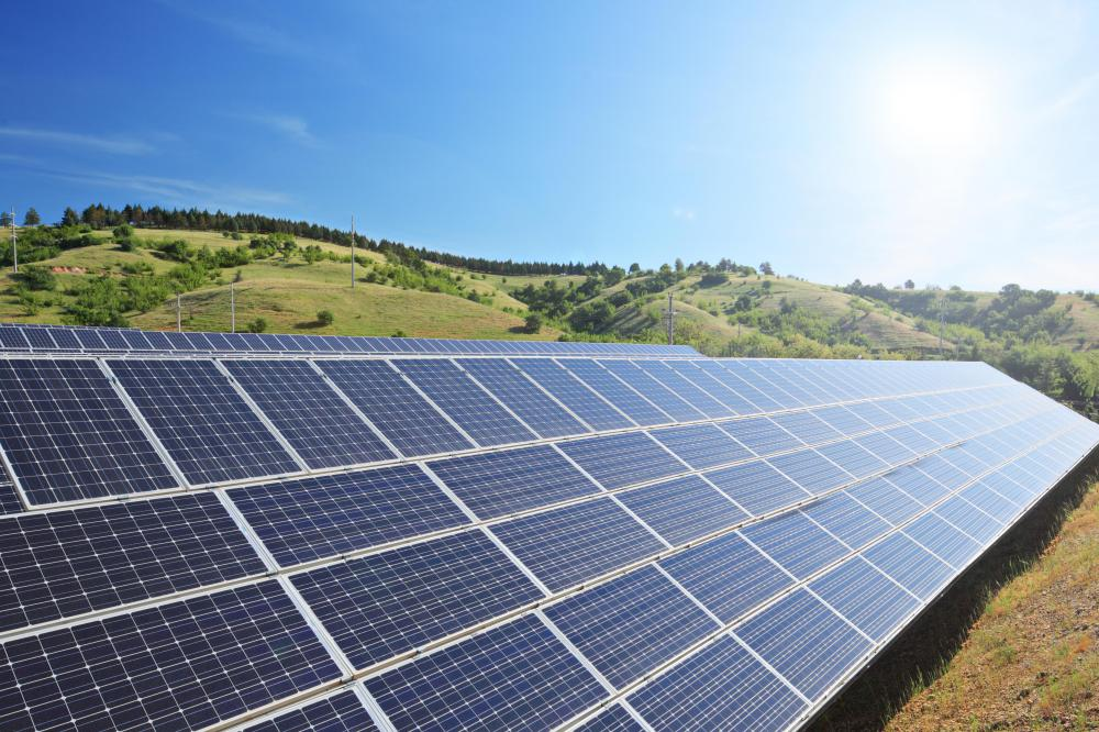 Most solar panel systems use batteries to store energy after the sun goes down.
