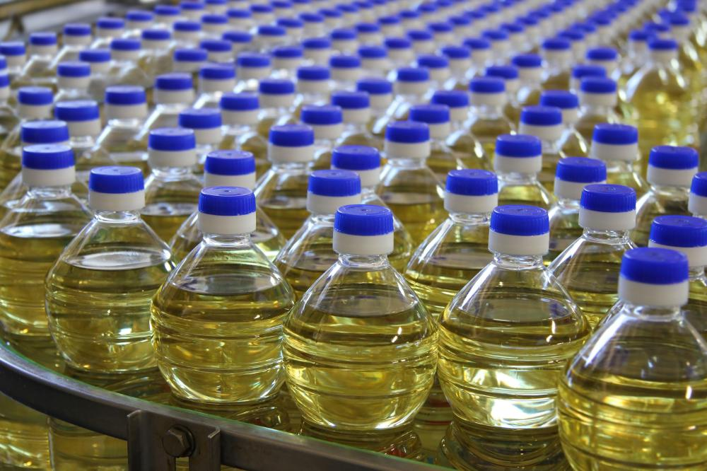 Widely viewed as one of the healthiest types of cooking oil, canola oil is high in linolenic acids.