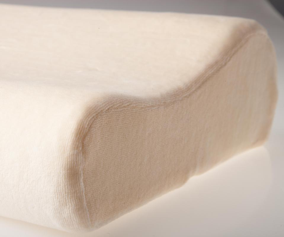 Foam pillows provide stability and eliminate pressure as it conforms to your body.