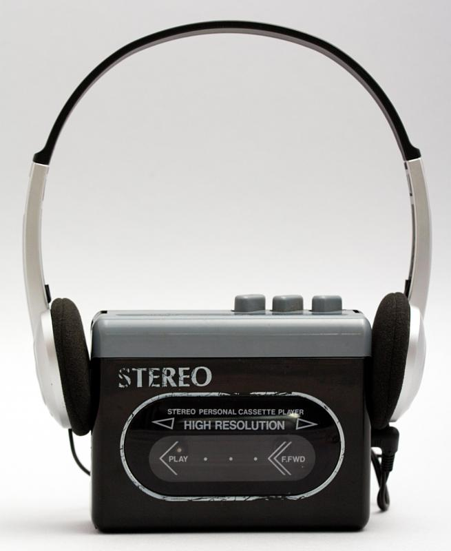 Hand-held cassette players were first introduced by Sony in the 1980s.