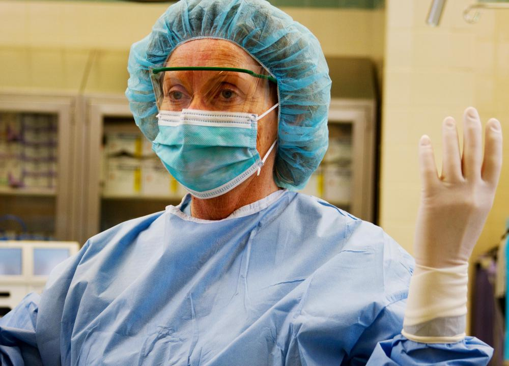 A hysterectomy is a surgery procedure that involves the removal of the uterus.