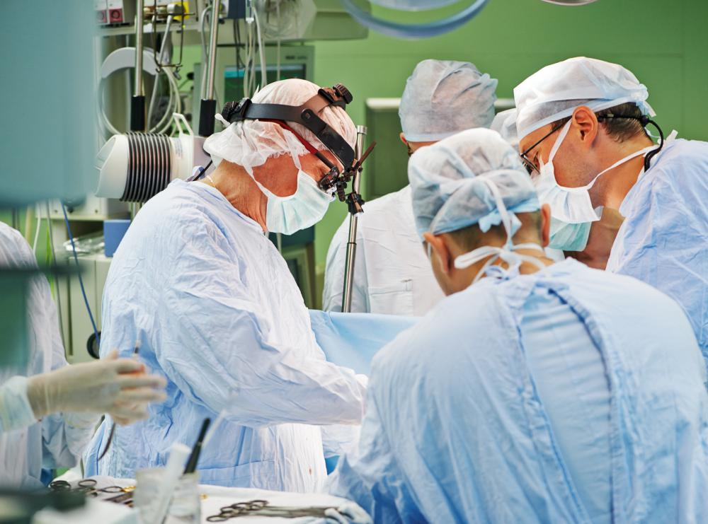 Quadruple bypass surgery often takes one to three hours.