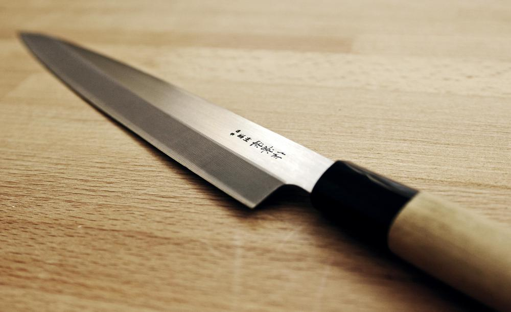 A sharp knife will be required to make sushi.
