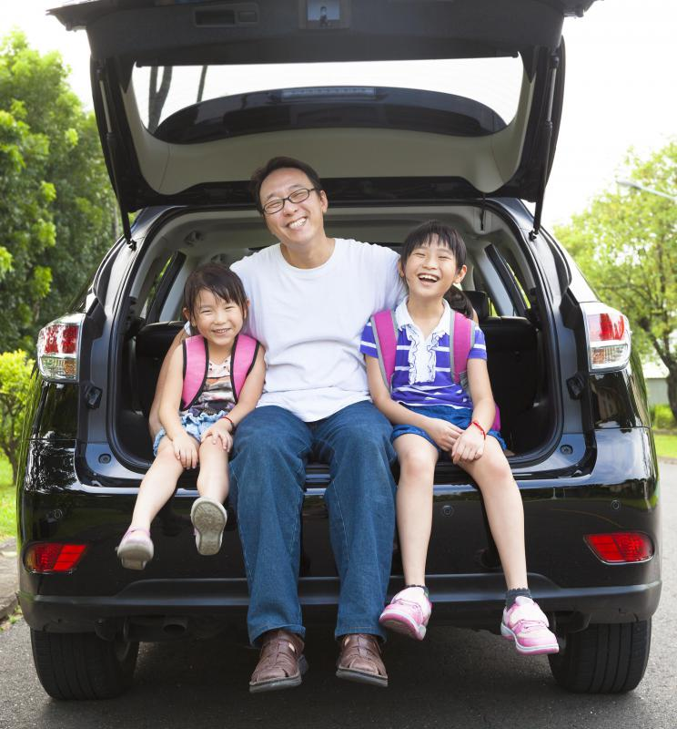 Families should choose an SUV with excellent safety ratings.