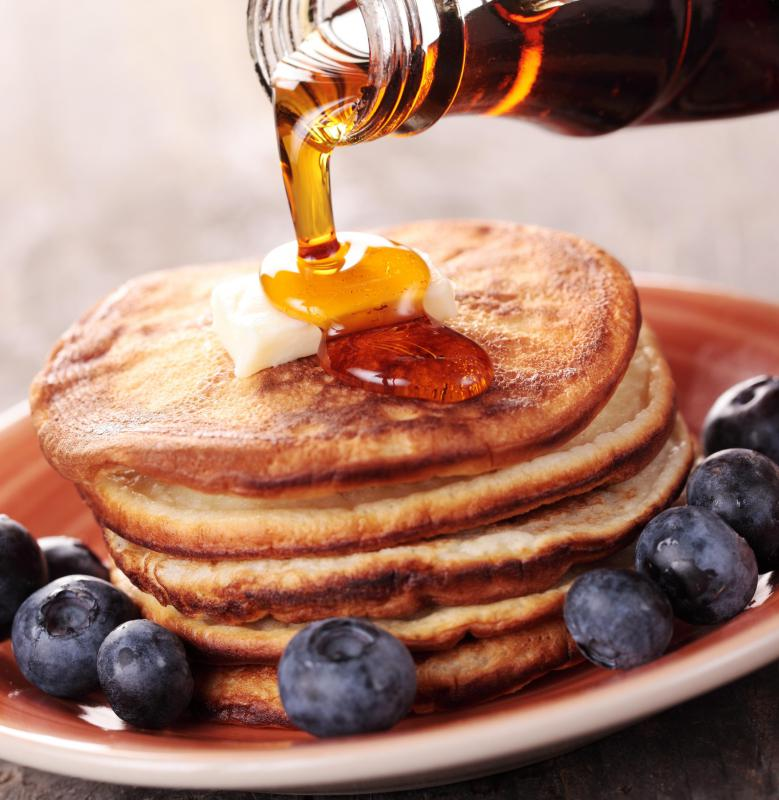 Many pancake recipes use barley.