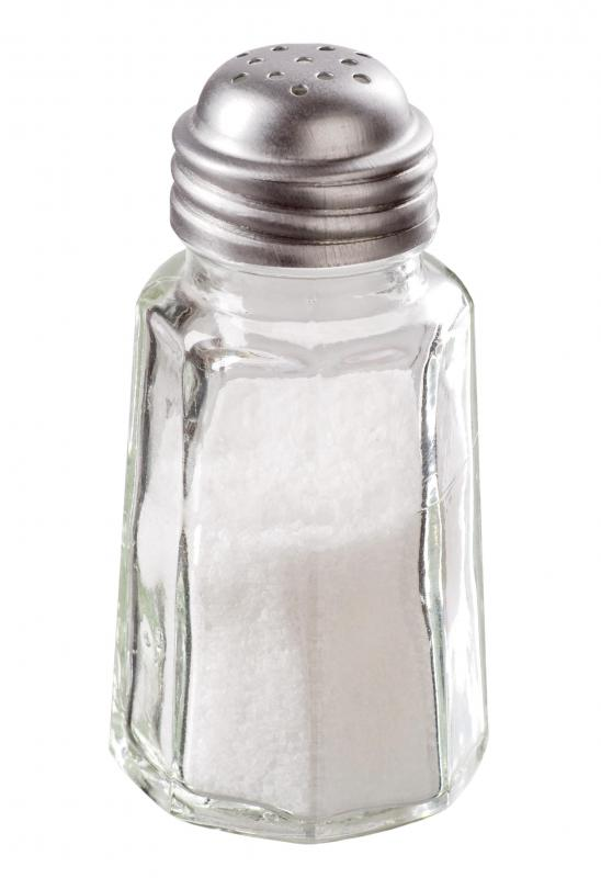 Table salt contains iodine, which can help prevent goiters.