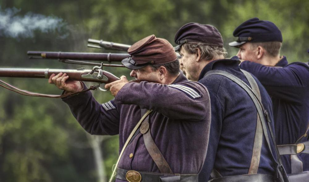 Civil War reenactors are a regular part of tourist attractions near Gettysburg and other Civil War battle sites.