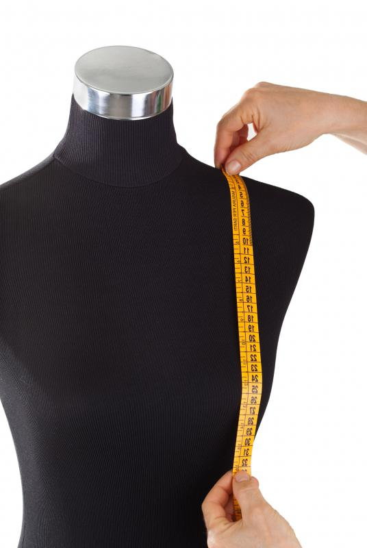 A dressmaking mannequin can help the dressmaker to achieve the optimum fit for each item of clothing.