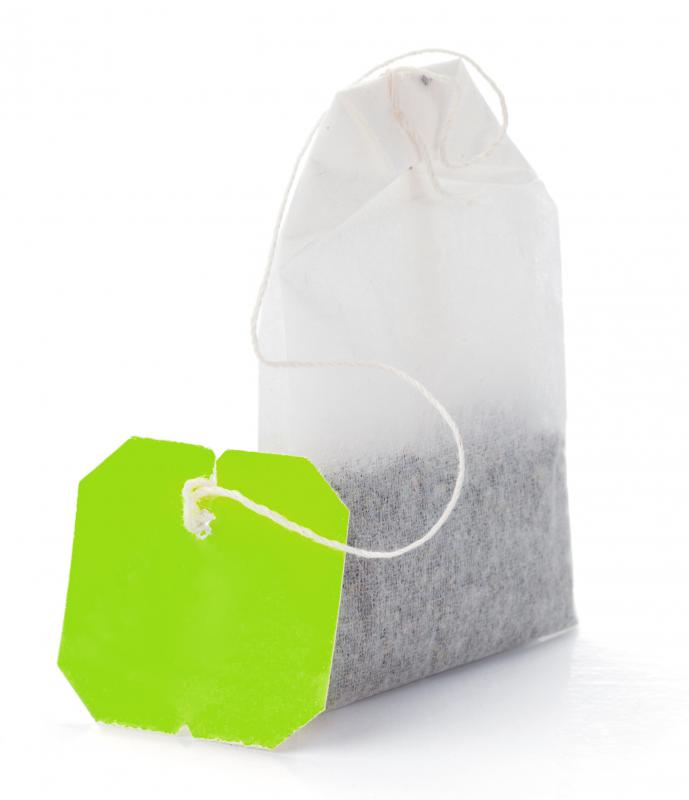Tea bags are often used in kitchen composting.