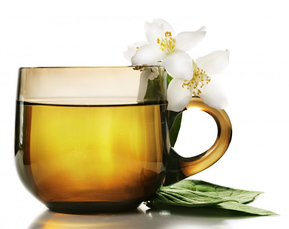 Drinking herbal tea may help a person with food poisoning stay hydrated.