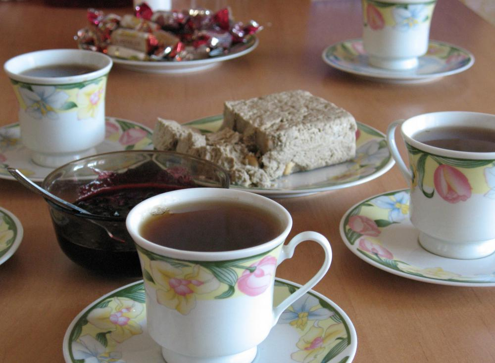 In the United Kingdom, normal tea time is 4 p.m.