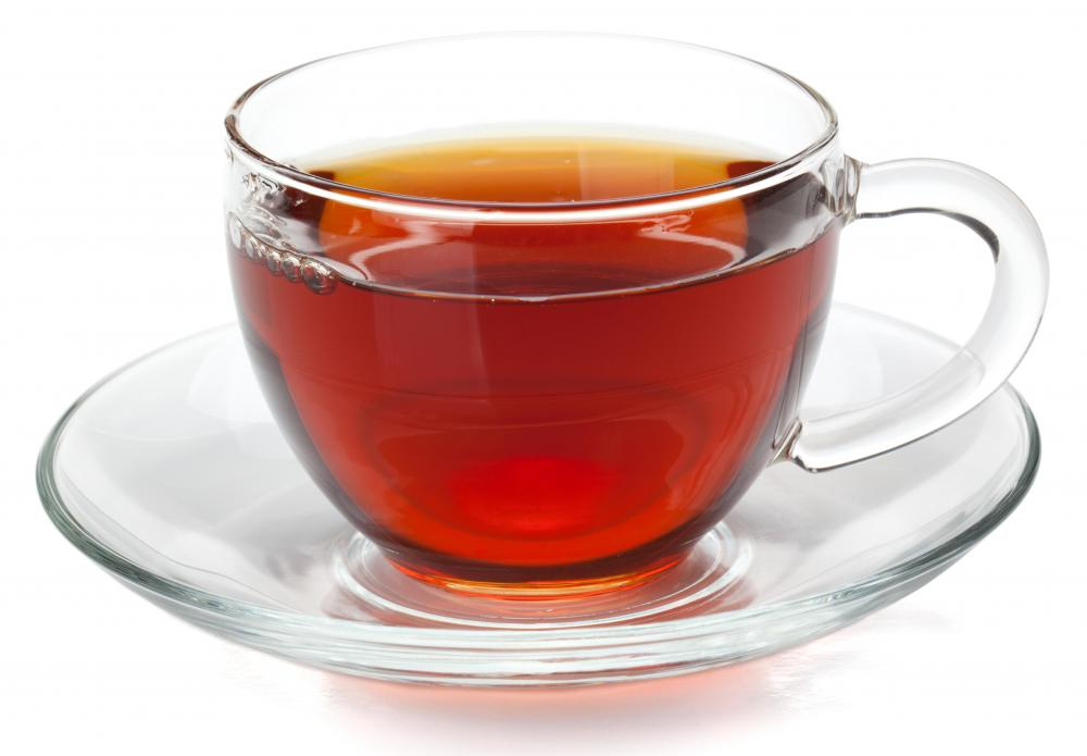 Beverages like sweat tea, which may contain high amounts of sugar and caffeine, should be drank in moderation.