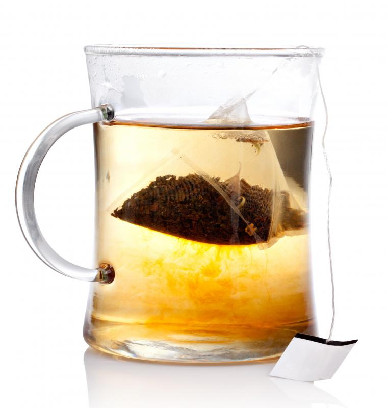 Using A Teabag To Steep Tea Is Very Common Method Of Preparation