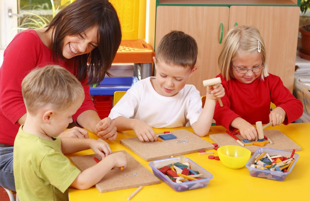 Student teaching is an important step in preparing for a career in early childhood education.