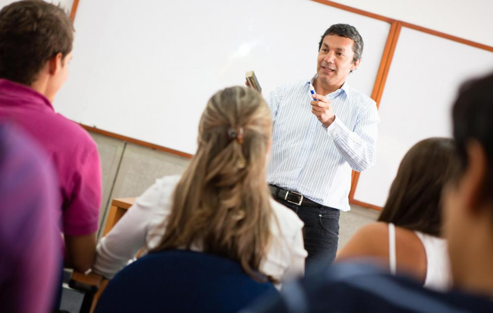 A teaching credential program is considered postgraduate education.