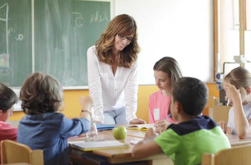 Special education teachers typically work with fewer students than regular teachers.