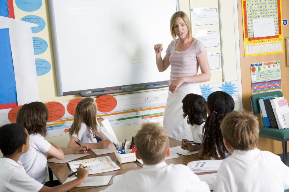 Primary school teachers are usually assigned to one particular class.