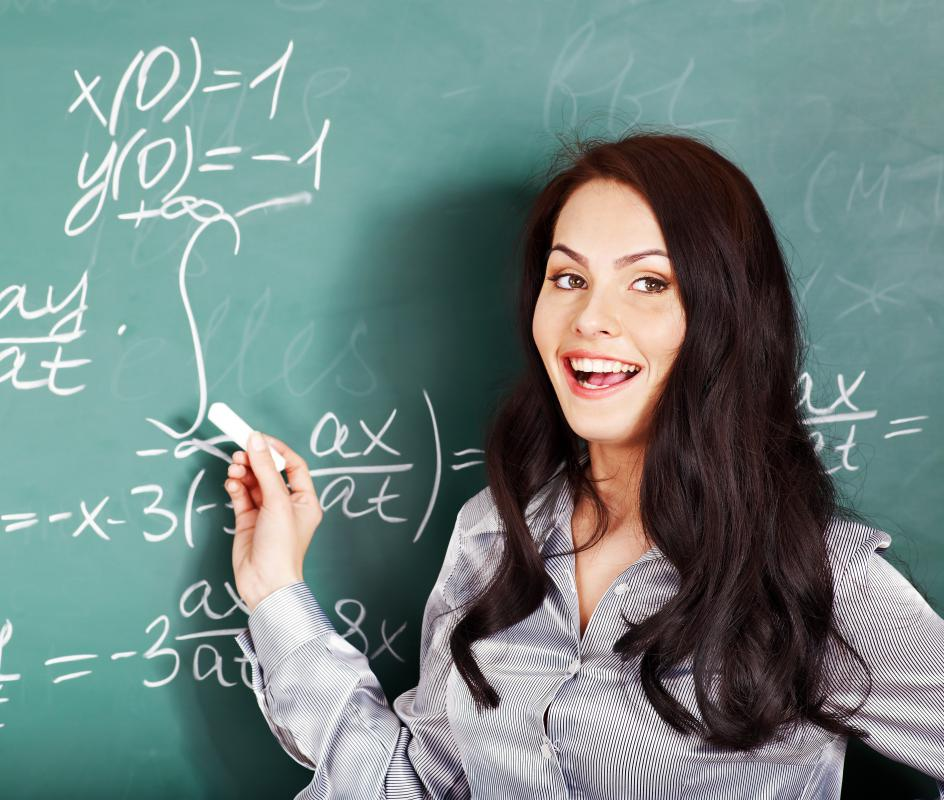 A tutor may help individuals improve their math skills.