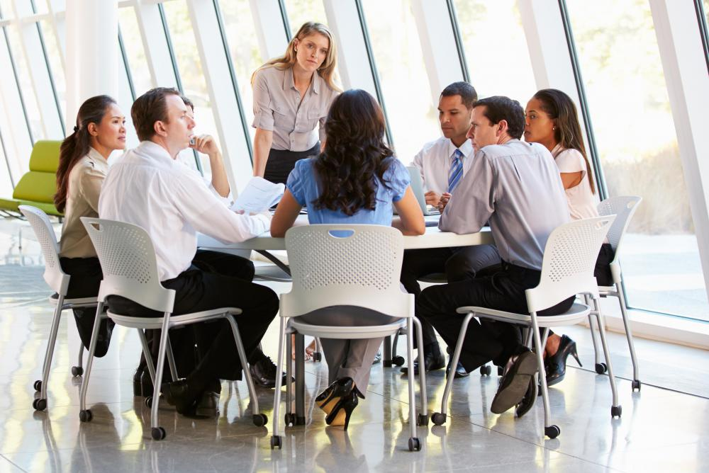 Methods of business communication include formal meetings.