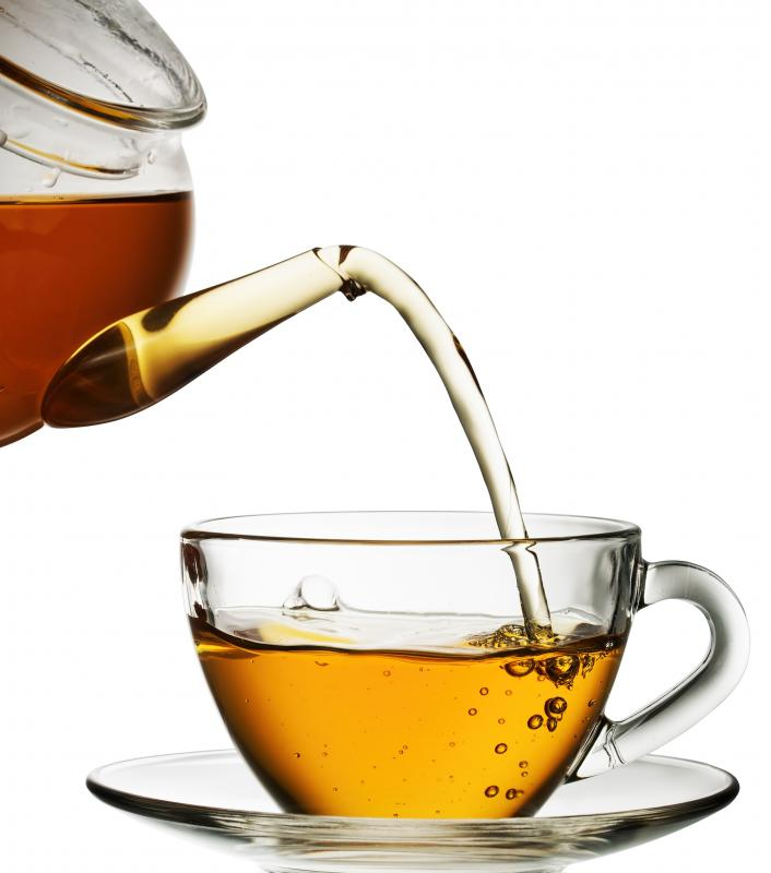 Green and black teas contains lots of flavonoids.