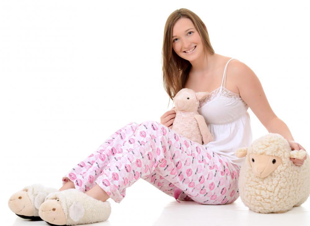 Most teen girls will love some fun pajamas and slippers.