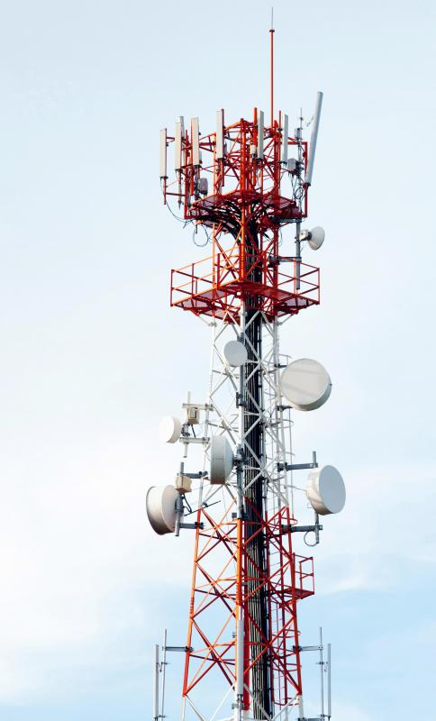 The cell tower network, which can transmit data to smart phones and tablets, gives people access to new media on the go.