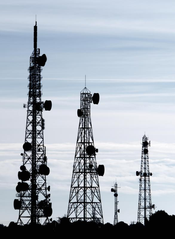 what are the types of telecommunications technologies Telecommunications services are those that are provided by a communications company that offers voice and data services over a large area the most common form of telecommunications service is phone service, which is done on either a wired or wireless standard.