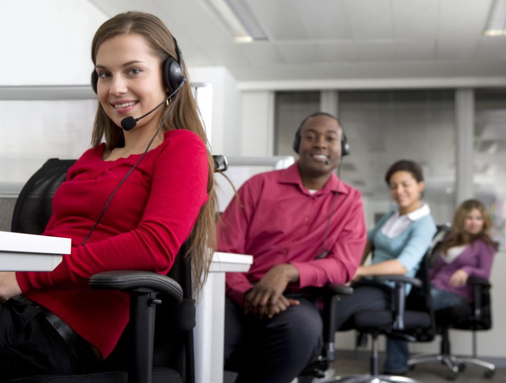 Business marketing may include telemarketing to inform customers about products and ascertain their interest.