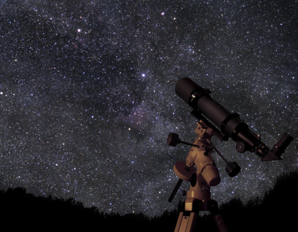 Simple telescopes may be powerful enough to observe cosmic dust.