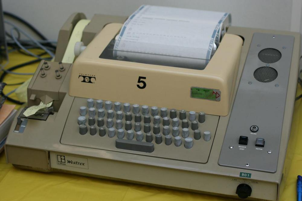 tty stands for teletypewriter