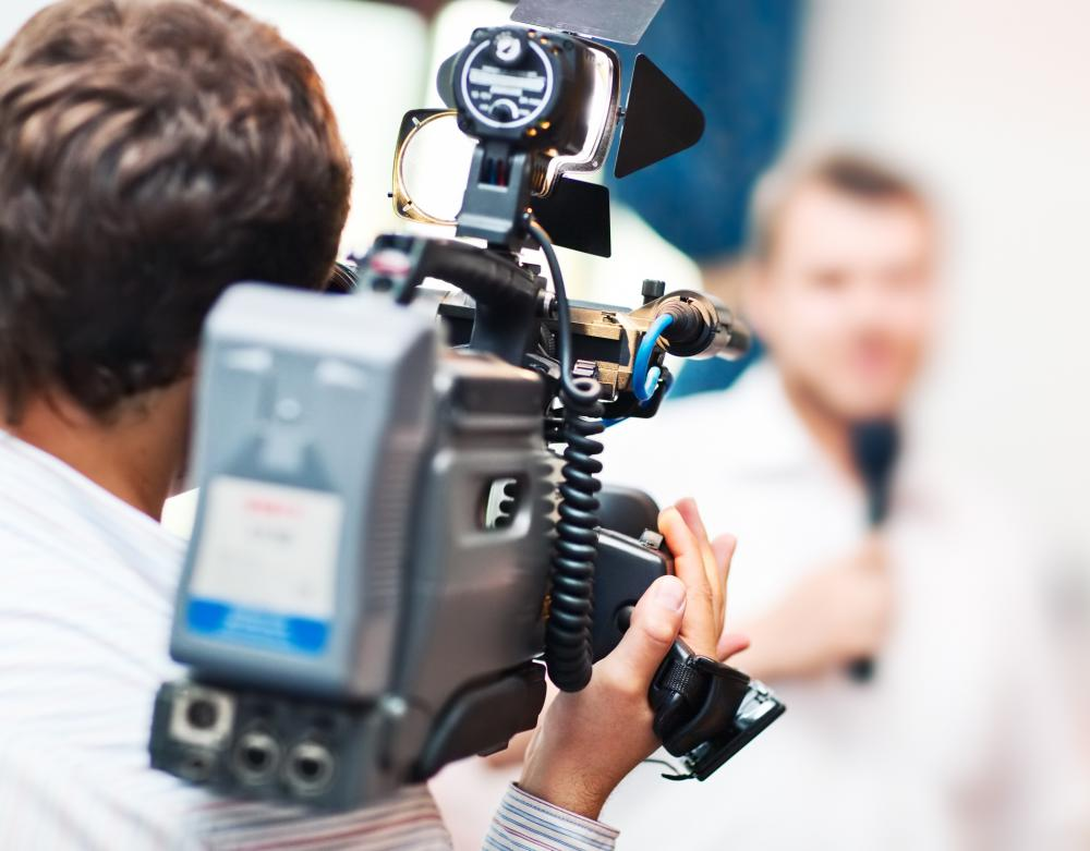 Educational training in camera use will help prepare individuals for a career as a videographer.