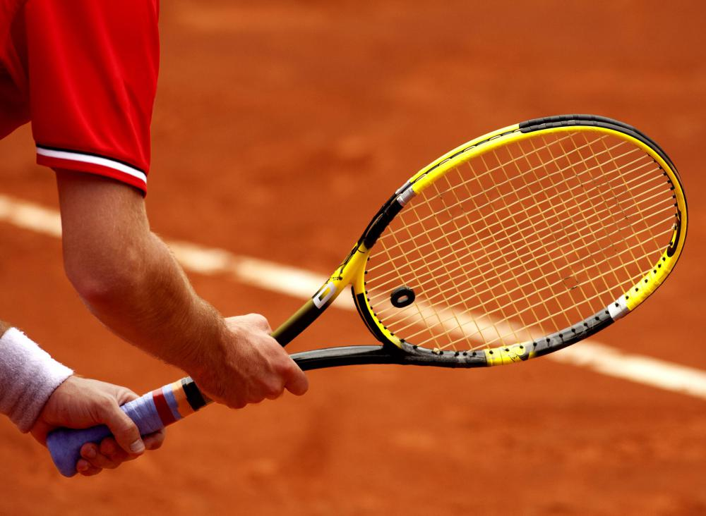 Injuries to the elbow occur most often from sports such as tennis.