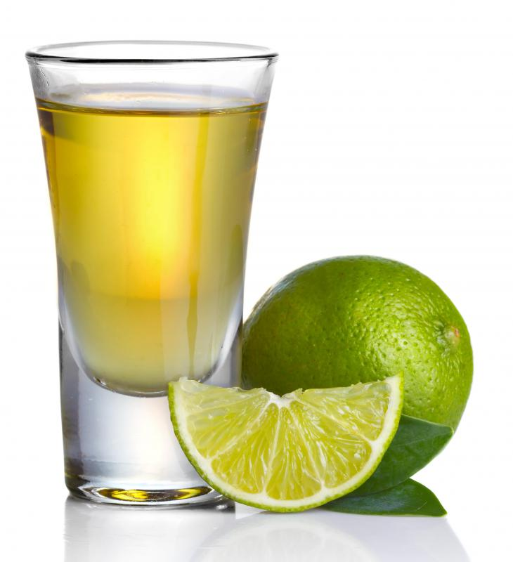 Tequila is the main ingredient in a margarita.