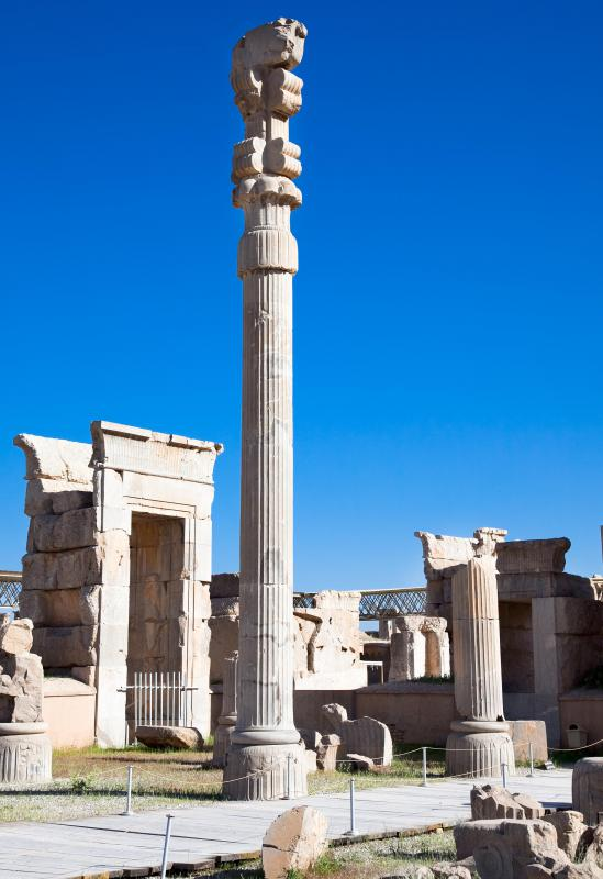 The Gate of All Nations is a popular spot in Persepolis.
