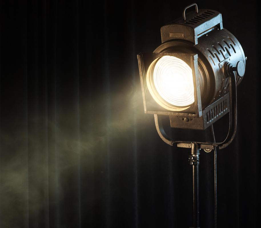 The Plano Convex Spotlight Is Used For Theatre Lighting