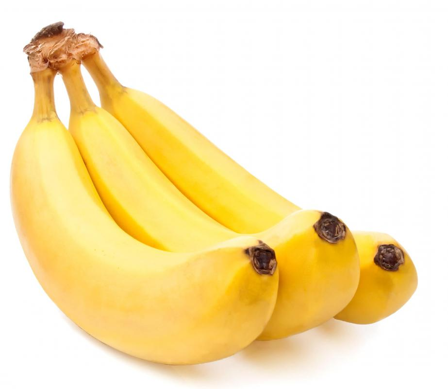 Bananas are a common addition to a bland diet.