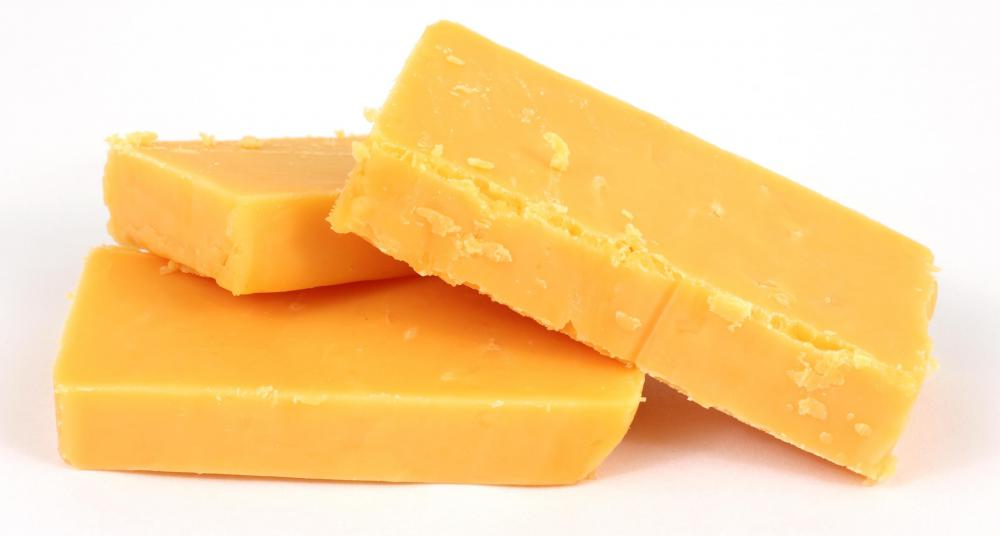 Cheddar cheese is popular choice for deep-fried cheese.