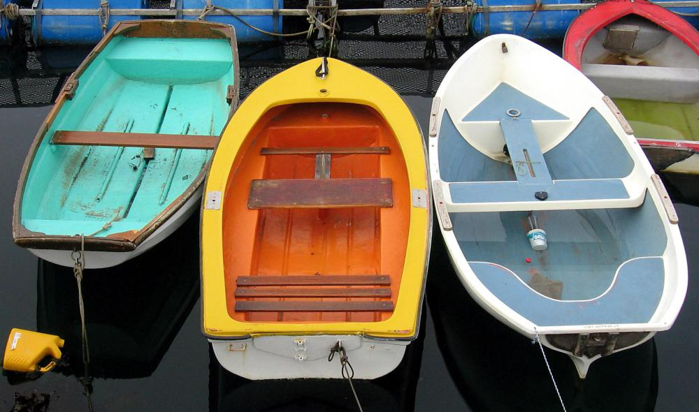 Used dinghies will need varying degrees of refurbishing.